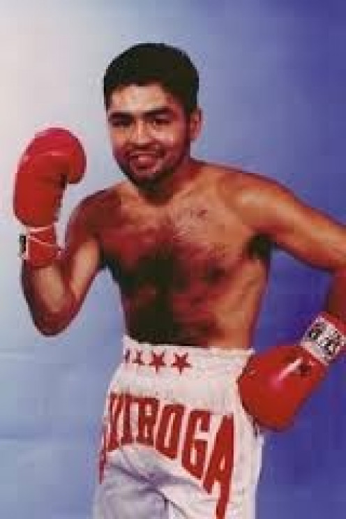Robert Quiroga fought with intensity from start to finish. Quiroga gave his all, win or lose, inside the boxing ring.