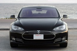 My dream car is a Tesla. It's hot, fast and all electric. One day...
