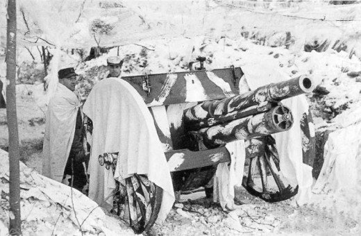The most common Finnish artillery piece was a 76 millimeter gun dating back to 1902.