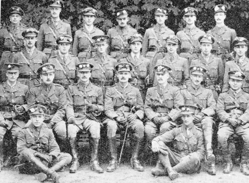 Officers of 12th Battalion Lancashire Fusiliers