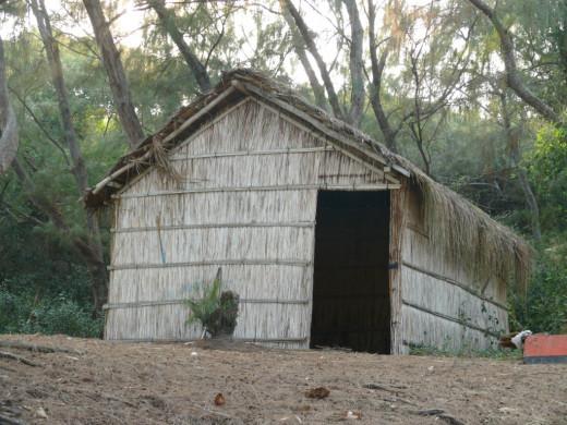 Fisherman's hut Tofu beach