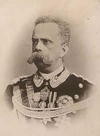 King Umberto I of Italy Portrait in 1878
