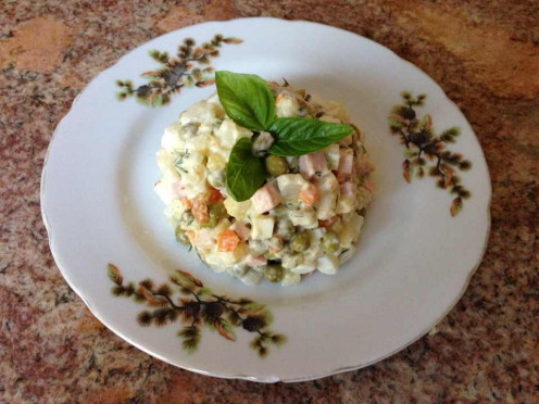 Russian Salad Oliv'ye
