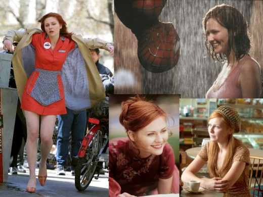 Kristen Dunst as Mary Jane Watson in Spider-Man Trilogy