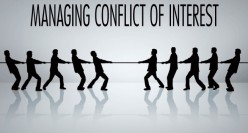 THINKING ALOUD (BusinessLaw) BUSINESS ETHICS: Conflicts-of-Interest or Interests-in-Conflict?