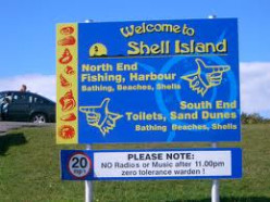 Steps Back In Time : Adventure At Shell Island.