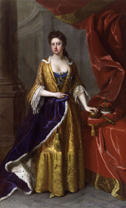 Queen Anne helped create Great Britain