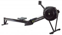 high foot plate and longer reach of the concept 2