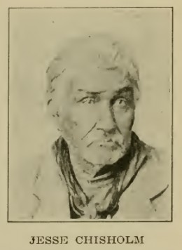 Jesse Chisholm, for whom the Chisholm Trail was eventually named.