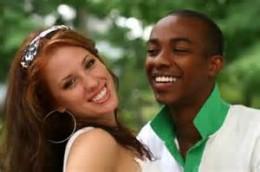 black man with white woman