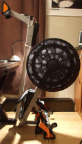 V-fit Tornado Air Rower Rowing Machine Review