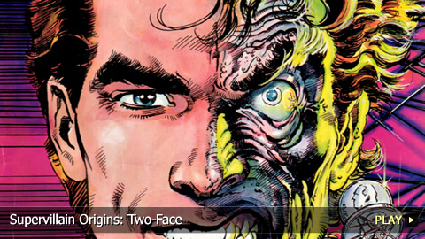 Two-face - amazing criminal mind