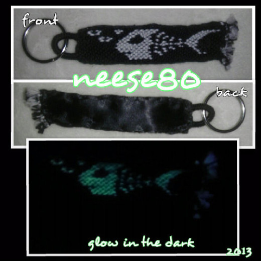 The fish glows in the dark!
