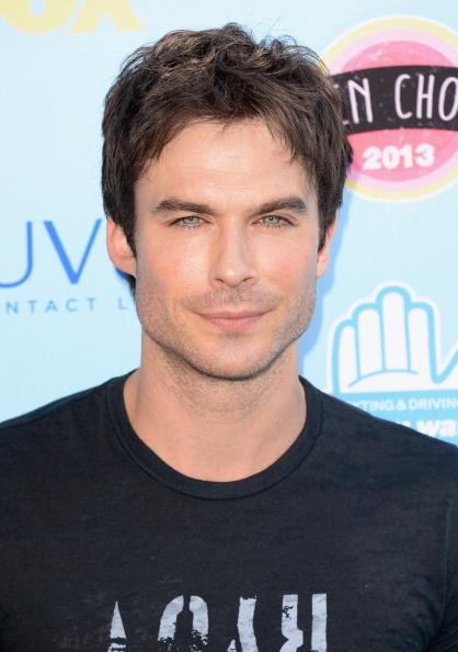 "Ian Somerhalder. 35, 5' 9 1/4"". Best known for ""Vampire Diaries"" and piercing blue eyes."