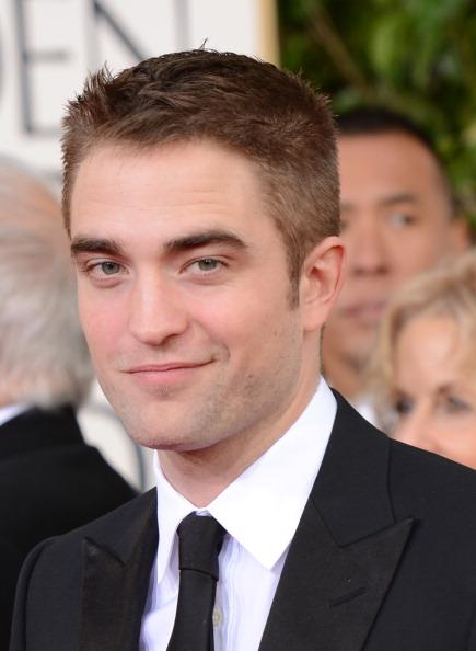 "Robert Pattinson. 27, 6' 1"". Most known for ""Harry Potter"" and ""Twilight"" trilogy."