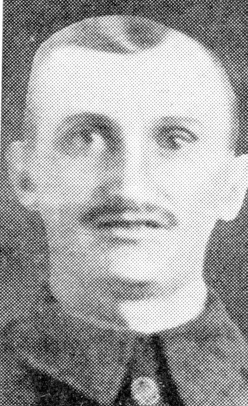 Pte. A. Vickers, gained the V.C. for his great bravery under fierce fire near Hulluch.