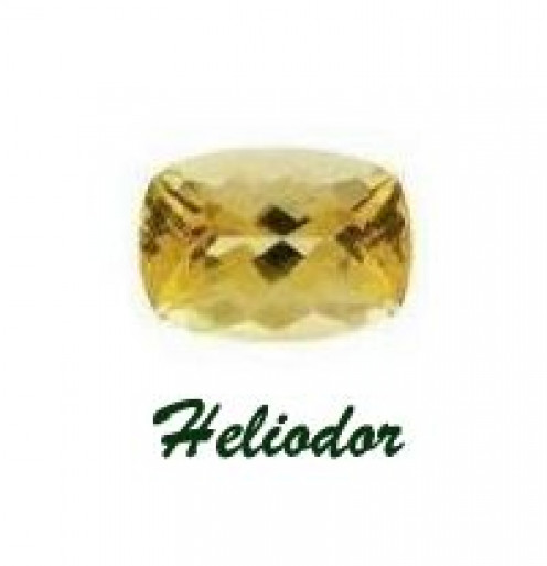 Heliodor Gemstone is also known as Yellow Beryl, Golden Beryl and Yellow Emerald.