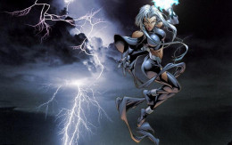 Storm - what a cool power she pocesses.