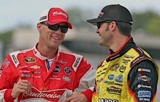 Harvick has little to lose and everything to gain with four races to go