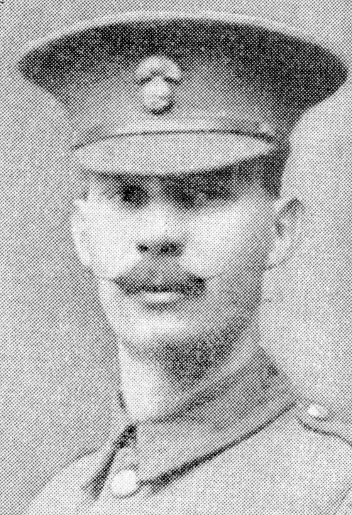 Comp. - Quartermaster-Sergt. J. W. Crouch, 1st Northumberland Fusiliers, who earned the D.C.M. by saving a critical situation. He repaired a damaged machine-gun under fire and brought it into action.