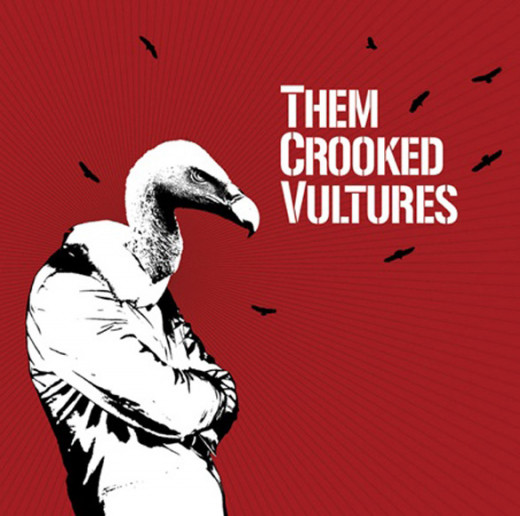 Them Crooked Vultures was released in 2009 by Interscope Records in North America, and Sony Music internationally.