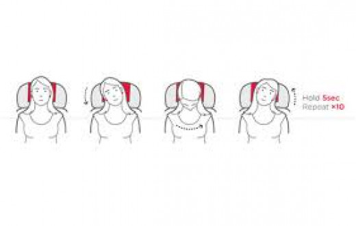 Head roles on the plane, will make you relax