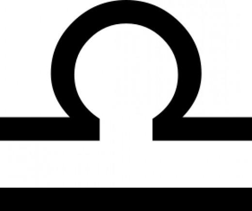 Libra's glyph