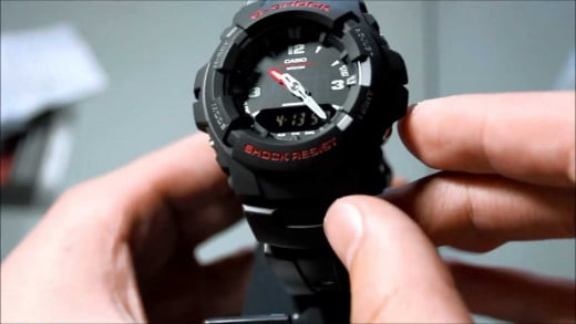 The Casio G-Shock G100 is a great watch for those who are a little more active.