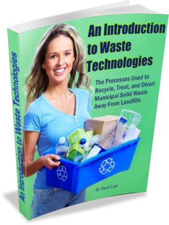 """Learn More About Waste Facilities of which the MRF described here is just one of many, in the """"Introduction to Waste Technologies eBook"""". Click the link below for more information."""