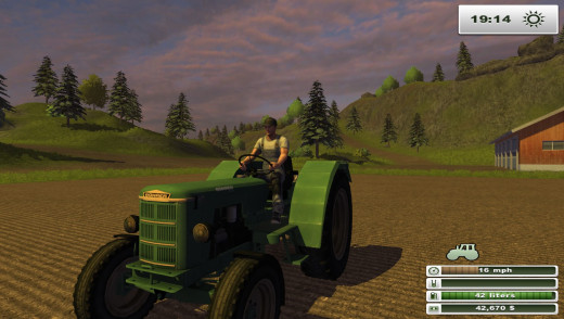 Classic tractors are available as free DLC on the PC