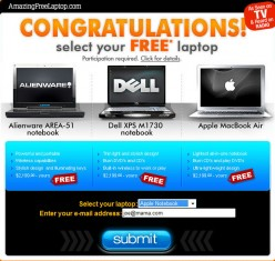 FREE Laptop Offers? Really?