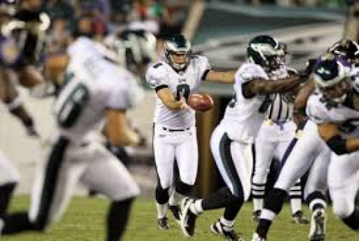 The hardest working Eagle on Sunday: Donnie Jones