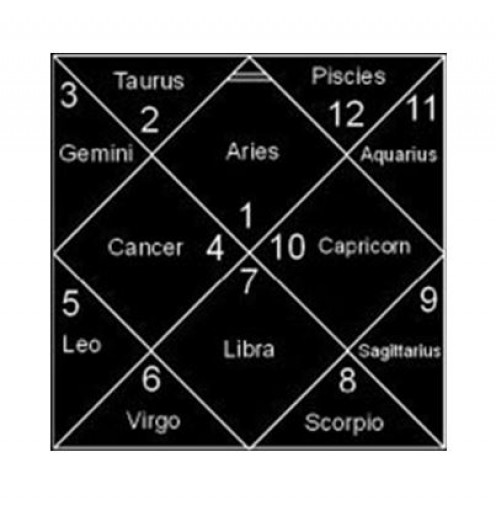 12 Houses in Horoscope Chart