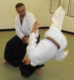 Kokyunage - An Aikido Technique which redirects the momentum of an attack into a momentum throw.
