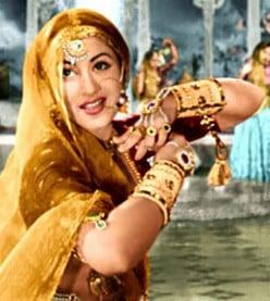 Madhubala; the beautiful actress of Bollywood during 1940-1960