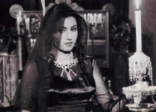 Madhubala in the movie Mahal