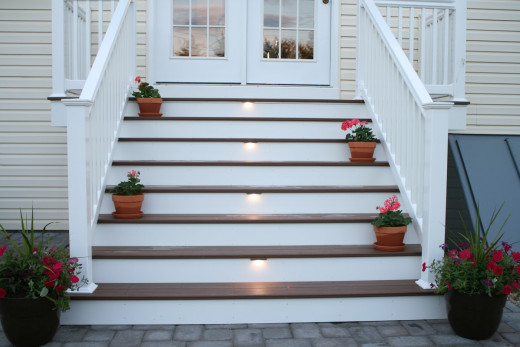Integral IL4 LED Lights used on stair treads.