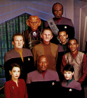 The Crew of DS9