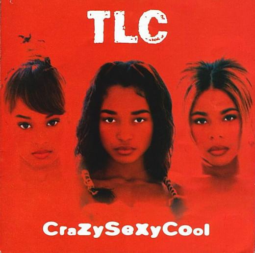 "TLC album cover for ""CrazySexyCool."""