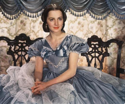Olivia de Havilland as Melanie Hamilton
