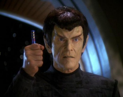 The Romulan senator who discovered the deception, and therefore was killed