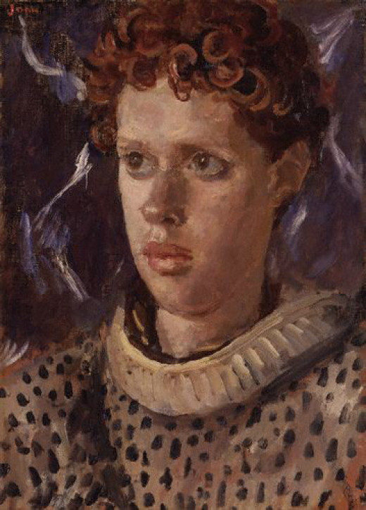 Dylan Thomas by John, Augustus (1878-1961) from RasMarley flickr.com
