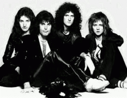 Queen in their heyday