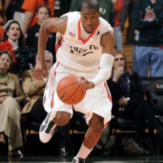 Miami senior Garrius Adams.