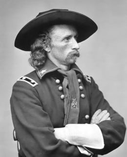 After the Civil War, men who served as generals were unwilling to give up their distinctive headgear when they reverted to being colonels and majors