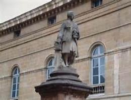 A Statue of Jean-Philippe Rameau located in Paris