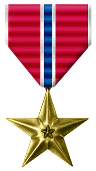 Phillip Coom received the Bronze Star, the Prisoner of War Medal, and the Combat Infantryman Badge.