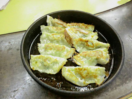Gyoza are easy to make. See the great recipes here