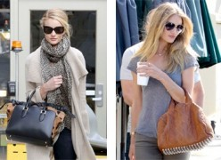 Rosie Huntington-Whiteley's Off-Duty Style