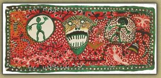 Australian indigenous art.